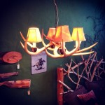 Small Whitetail Antler Chandelier